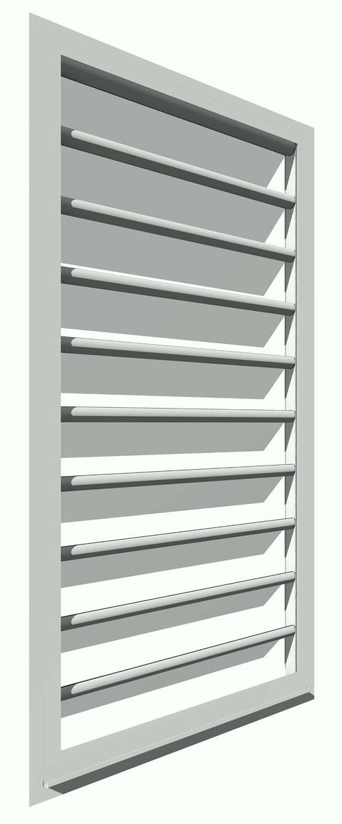 Habitat concept design tout objet mat rialis en 3d for Fenetre jalousie verre